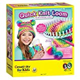 Creativity for Kids Quick Knit Loom – Make Your...