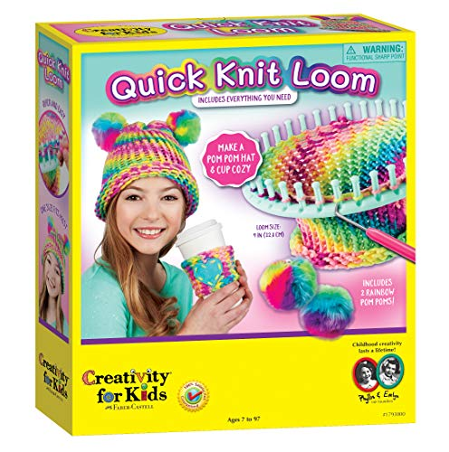 Creativity for Kids Quick Knit Loom –...