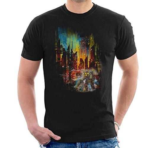 Bioshock Big Daddy Leaving Rapture Men's T-Shirt