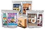 NorthWest Fork Gluten-Free 30 Day Emergency Food Supply (Kosher, Non-GMO, Vegan) - 10 Year Shelf Life - 90 Servings