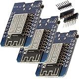 ✔️ Sichern Sie sich jetzt drei D1 Mini NodeMcu mit ESP8266-12F zum Vorteilspreis mit Mengenrabatt! ✔️ Der AZ-Delivery D1 mini ist ein Mini-NodeMcu Lua WiFi-Board basierend auf einem ESP-8266-12F. Dieses WLANboard enthält 11 digitale Ein- / Ausgangspi...