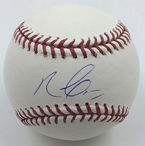 Nelson Cruz Autographed Baseball
