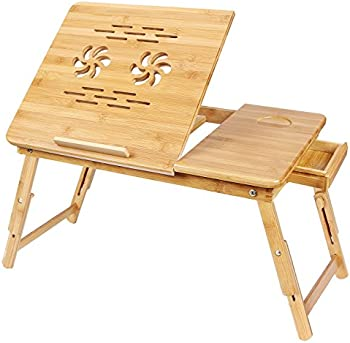 Songmics Bamboo Laptop Desk