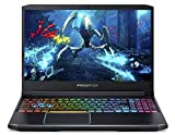 Acer Predator Helios 300 Gaming Laptop PC, 15.6' Full HD 144Hz 3ms IPS Display, Intel i7-9750H, GeForce RTX 2060 with 6GB, 16GB DDR4, 512GB PCIe NVMe SSD, RGB Keyboard, PH315-52-72EV