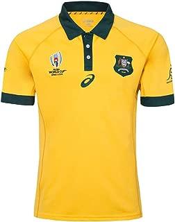 2019ジャパンワールドカップオーストラリアホームアンドアウェイサッカー服ファン衣類男性と女性アウトドアスポーツとレジャーアパレル通気性吸汗性大サイズS-5XL