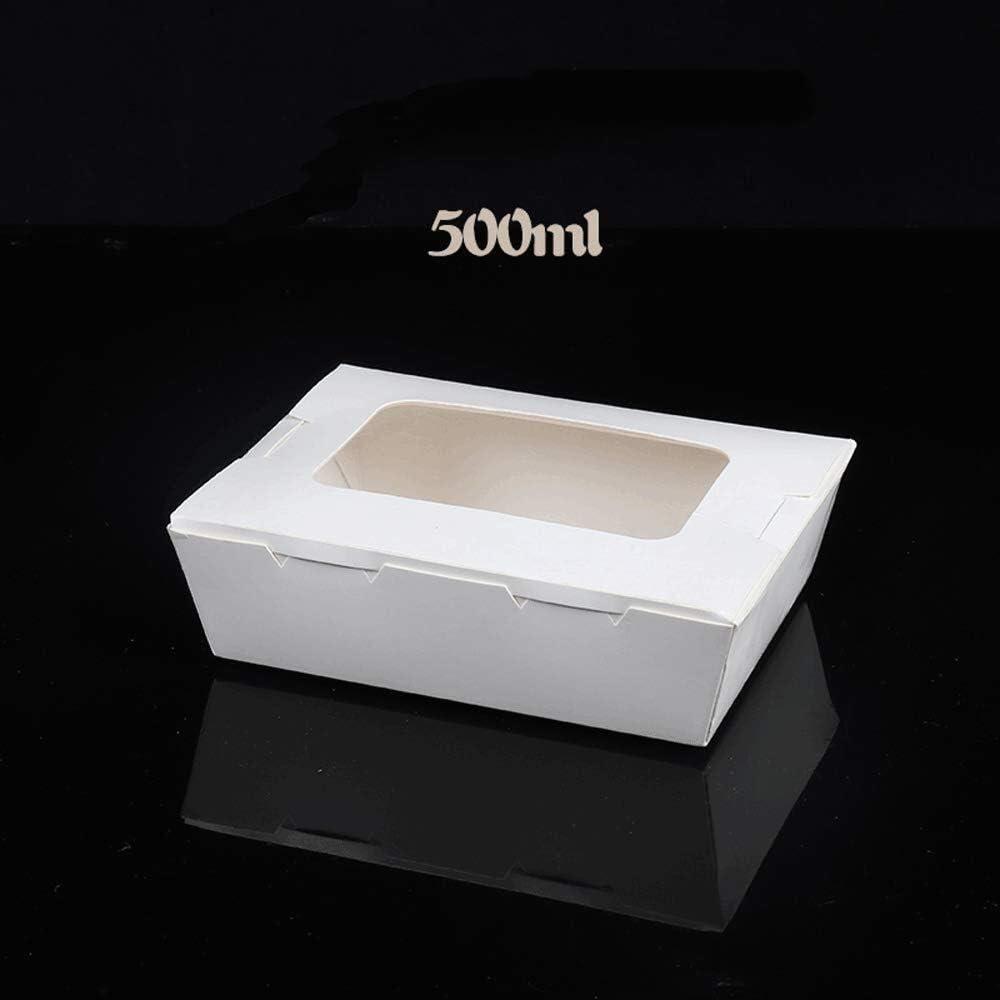 Max 46% OFF Exquisite Bowl White Disposable Kraft Sale item Paper Sushi Sashimi Snack