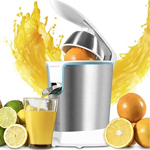 Cecotec Exprimidor naranjas eléctrico Zitrus Adjust 160 White