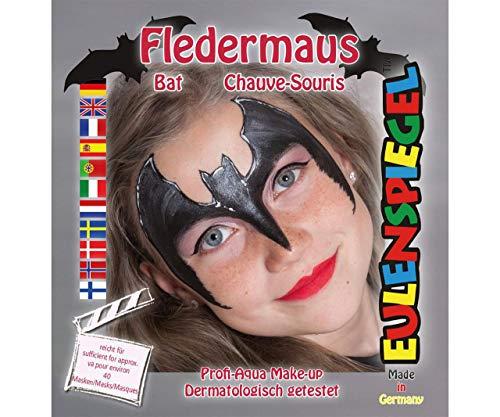 Gesicht Farbe Set - Fledermaus, EU 204306