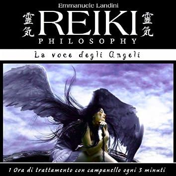 Reiki Philosophy: la voce degli angeli (1 ora di trattamento con campanello ogni 3 minuti)