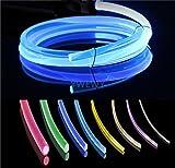 30ft PMMA Plastic Optic Fiber Side Glow Cable...
