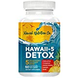Hawaii Nutrition Company Digestive Enzymes - Bromelain Pineapple, Papaya Extract, Noni, Turmeric, Ginger - Detox Cleanse Supplements for Gut Health & Immune Support (60 Capsules)