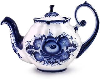 Gzhel Porcelain Teapot