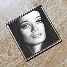 VALERIE LEON - Original Art Coaster #js001
