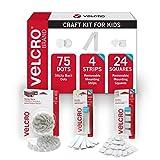 VELCRO Brand Craft Kids | Best Starter Kit for Arts & Crafts Activities, white
