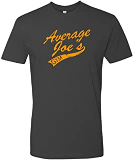 Panoware Men's Funny Dodgeball Workout T-Shirt   Average Joe's Gym