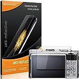SWIDO Protector de pantalla para Fujifilm X-A5 [2 unidades] antirreflectante mate, alto grado de dureza, protección contra arañazos/lámina, protector de pantalla, lámina de cristal blindado
