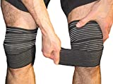 Elastic Knee Compression Wraps