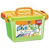 BIC Kids Ecriture Boîte de Coloriage - Fabriqués Sans Bois - 60 Crayons de Couleurs/60Feutres de Coloriage