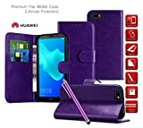 Huawei Ascend Y550 Case| Leather Wallet Case Card Holder |