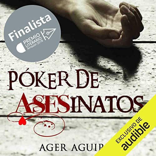 Diseño de la portada del título Póker de Asesinatos