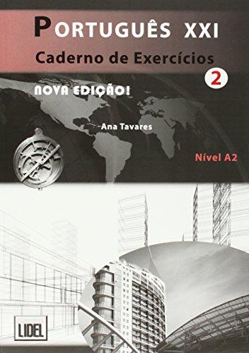 PORTUGUES XXI 2 EJERCICIOS: Caderno de exercicios 2 (A2) (Portugus Xxi Nova Edio) ✅