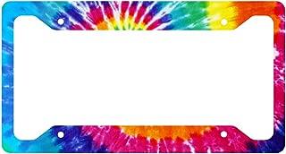 Tie Dye License Plate Frame
