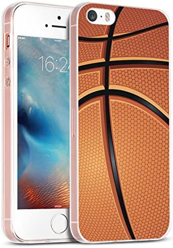 Case for Phone 5S Basketball Cover for 5S MUQR Replacement Skin Rubber Gel Silicone Slim Drop product image