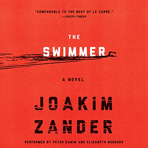 The Swimmer audiobook cover art