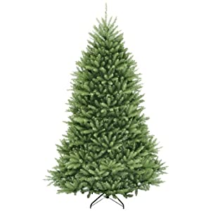 National Tree Company Artificial Christmas Tree Includes Stand, Dunhill Fir – 7 ft