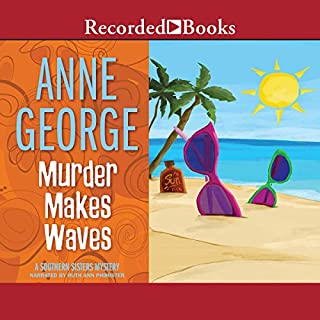 Murder Makes Waves audiobook cover art
