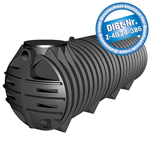 PREMIER TECH AQUA GmbH Abwassersammelgrube 3000 Liter Tubus mit DIBt - Zulassung