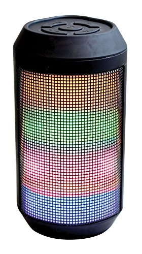 Craig Electronics CMA3611 Portable Speaker with Color Changing Lights and Bluetooth Wireless Technology