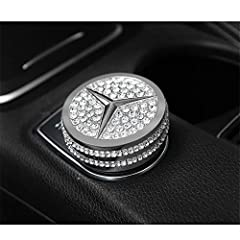 ✔Crystal Rhinestone Multimedia Bling Control Knob(Silver) ✔Enhance the style and Appearance of your Car ✔100% Brand New and High Quality with 6 months Warranty ✔Compatible for Mercedes-Benz from the Product Picture(inner diameter is around 42mm) ✔Eas...