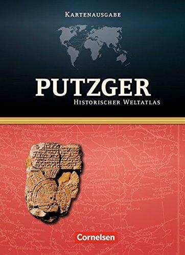 Putzger - Historischer Weltatlas - [104. Auflage]: Kartenausgabe: Atlas mit Register