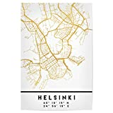 artboxONE Poster 60x40 cm Städte Helsinki Finland Street