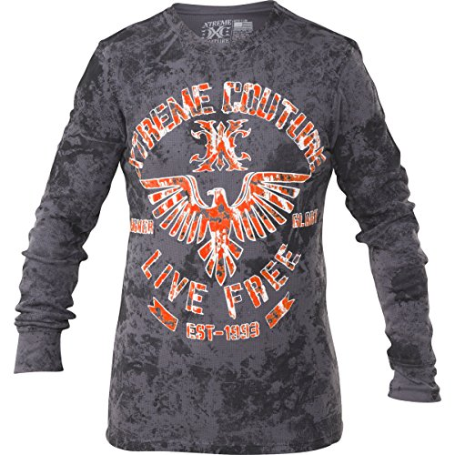 Xtreme Couture Red Zone Thermal XL Charcoal