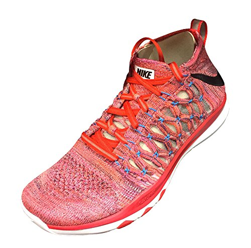 Nike Train Ultrafast Flyknit Mens Running Trainers 843694 Sneakers Shoes (US 10.5, Plum Fog Black Total Crimson 500)