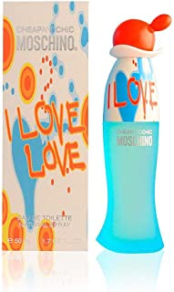MOSCHINO I Love Love Eau de Toilette Spray, 1 Ounce