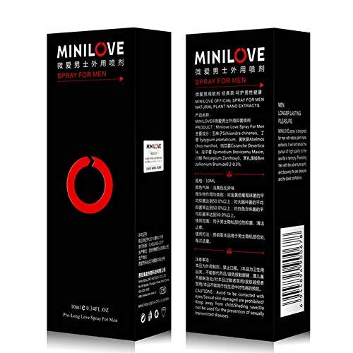 Marathon Delay Spray de retraso para nutrir y adormecer para hombres Retrasa la eyaculación y mejora el rendimiento sexual Prolongue el sexo para hombres con este spray a base