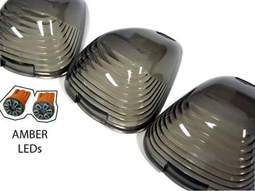 VMS Racing 5pc CAB ROOF Lights CRL Superior COVERS SMOKE Virginia Beach Mall 264142BKA wit in