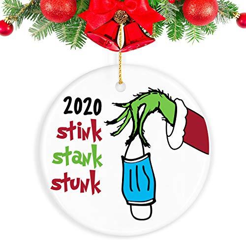 biondo beverly hills 2020 Christmas Ornament Quarantine, 2020 Ornament Funny Home Decor Grinch Christmas Decor Christmas Decorations Clearance - Gifts for Christmas
