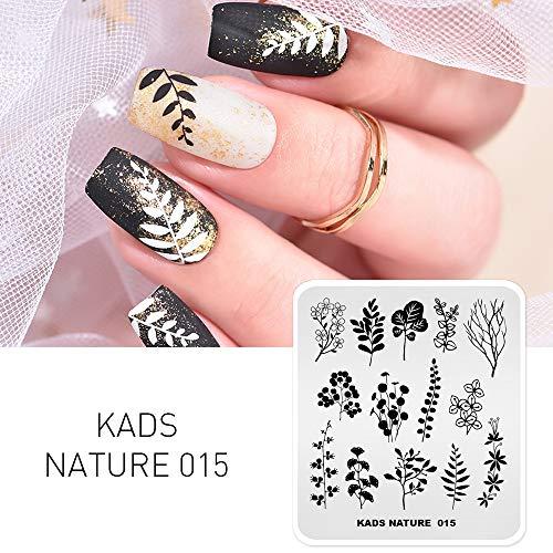 KADS Nail Stempelnde Platte chinesischen Stil Vorlage Bild Design Platten für Nail Art Dekoration und DIY Nail Art (NA015)