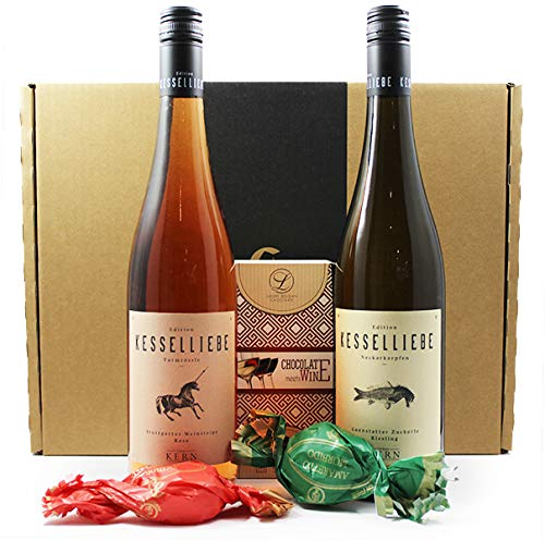 Wein Geschenkpaket | Kesselliebe Paket aus Stuttgart - Jungwinzer des Jahres