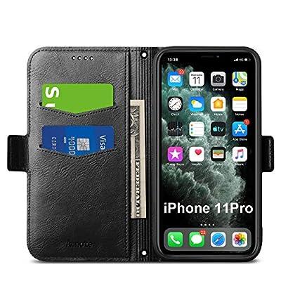 Aunote iPhone 11 Pro Case Wallet, Slim iPhone 1...