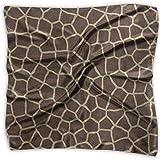 Pañuelo cuadrado jirafa animal print bufandas retro pañuelo unisex corbata para mujer