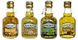 Mantova Flavored Extra Virgin Olive Oil Variety Pack: Tuscan Herbs, Truffle, Garlic, Basil Authentic...