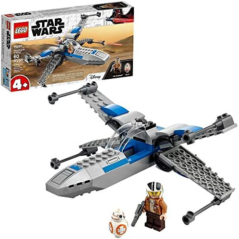 LEGO Star Wars Resistance X Wing 75297 Building Kit Awesome Starfighter Building Toy for Kids product image