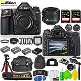Nikon D780 DSLR Camera with Nikon AF-S NIKKOR 50mm f/1.8G Lens + UV and Color Filter Sets + 2 Extra Batteries + Case + 2 Sandisk Extreme Pro 64GB Card + Light + 12' Flex Tripod + Cleaning Set + More