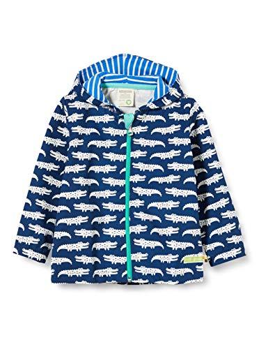 loud + proud Jungen Outdoor Jacket Organic Cotton Jacke, Blau (Ultramarin Ul), (Herstellergröße: 62/68)