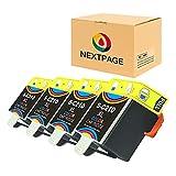 NEXTPAGE kompatibel für Samsung INK-C210 Farbig Tintenpatrone Ersatz für Samsung CJX-1000 CJX-1050W CJX-2000FW Series Drucker (4 Tintenpatrone C210 Farbig)